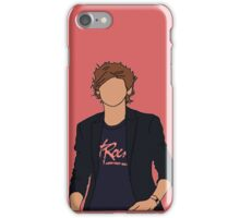 Louis Tomlinson Hot Rock Cartoon (Red) iPhone Case/Skin
