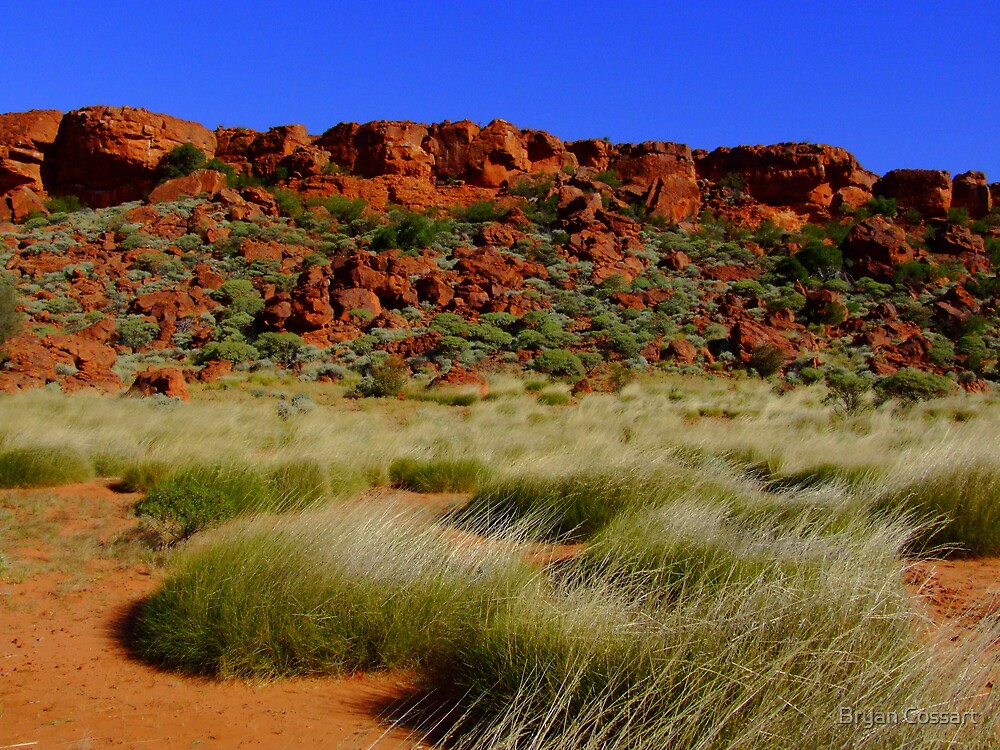 Red Rock Hills by Bryan Cossart