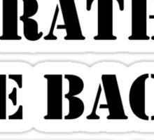 Right Now, I'd Rather Be Back In The '00s - Black Text Sticker