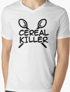 Cereal Killer Mens V-Neck T-Shirt