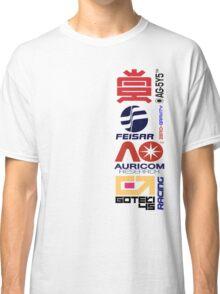 Wipeout Logos Classic T-Shirt