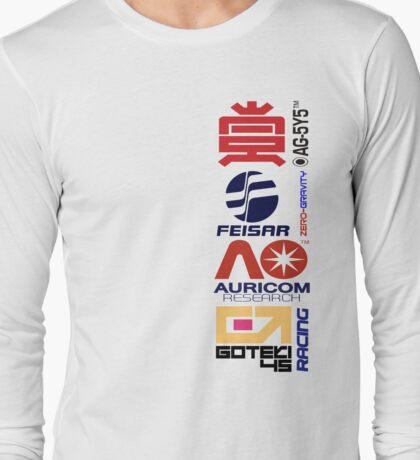 Wipeout Logos Long Sleeve T-Shirt