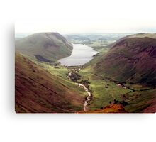 Wastwater from Great Gable Canvas Print