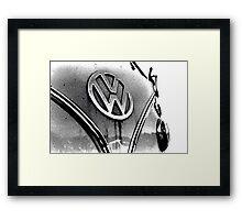 Volkswagen Camper Van Framed Print