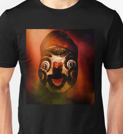 Scary side show puppet Unisex T-Shirt