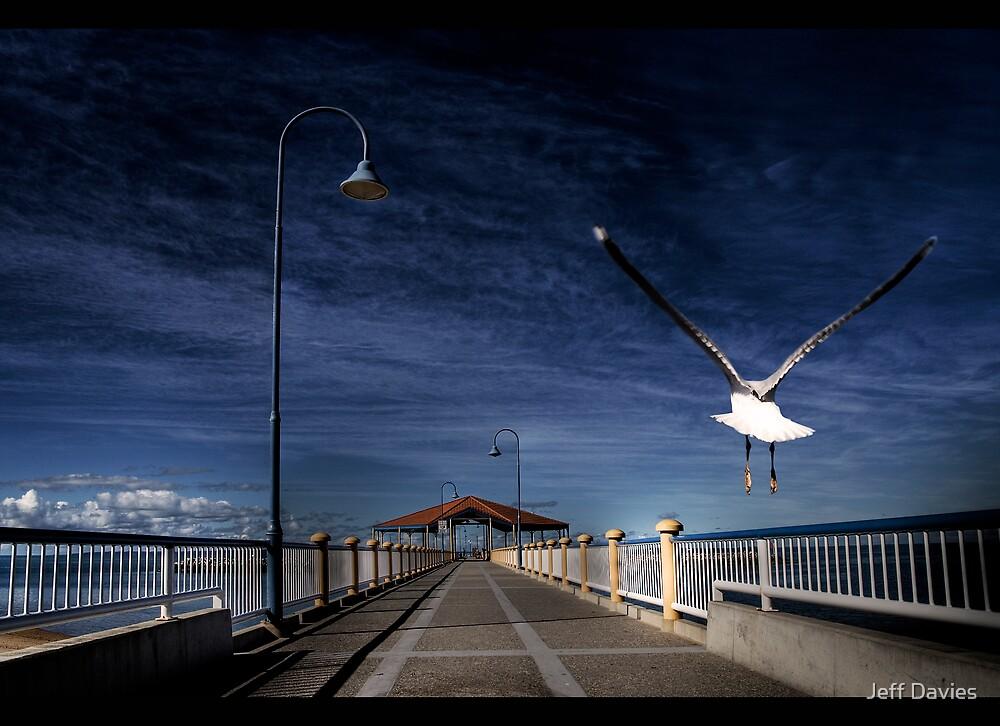 The jetty by Jeff Davies