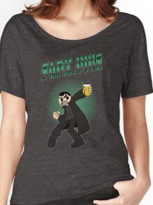 Gary King vs The World's End - Green Women's Relaxed Fit T-Shirt