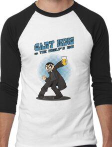 Gary King vs The World's End - Blue Men's Baseball ¾ T-Shirt