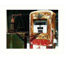 Gas $ 0.36 per gallon !!! Art Print