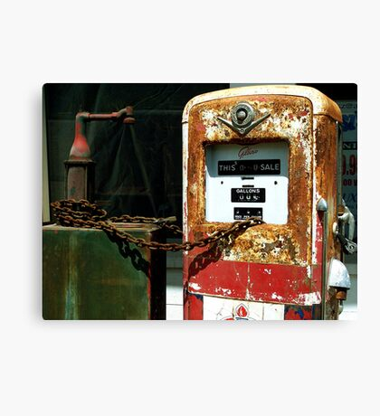 Gas $ 0.36 per gallon !!! Canvas Print