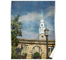 Historic Savannah Church Poster