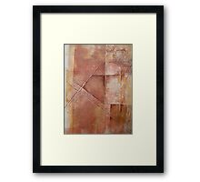 Off On A Tangent Framed Print