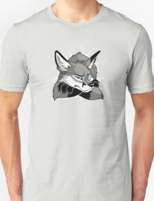 STUCK - Grey Fox Unisex T-Shirt