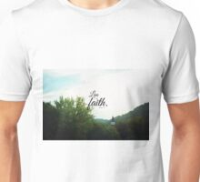 Live by faith Romans  Unisex T-Shirt