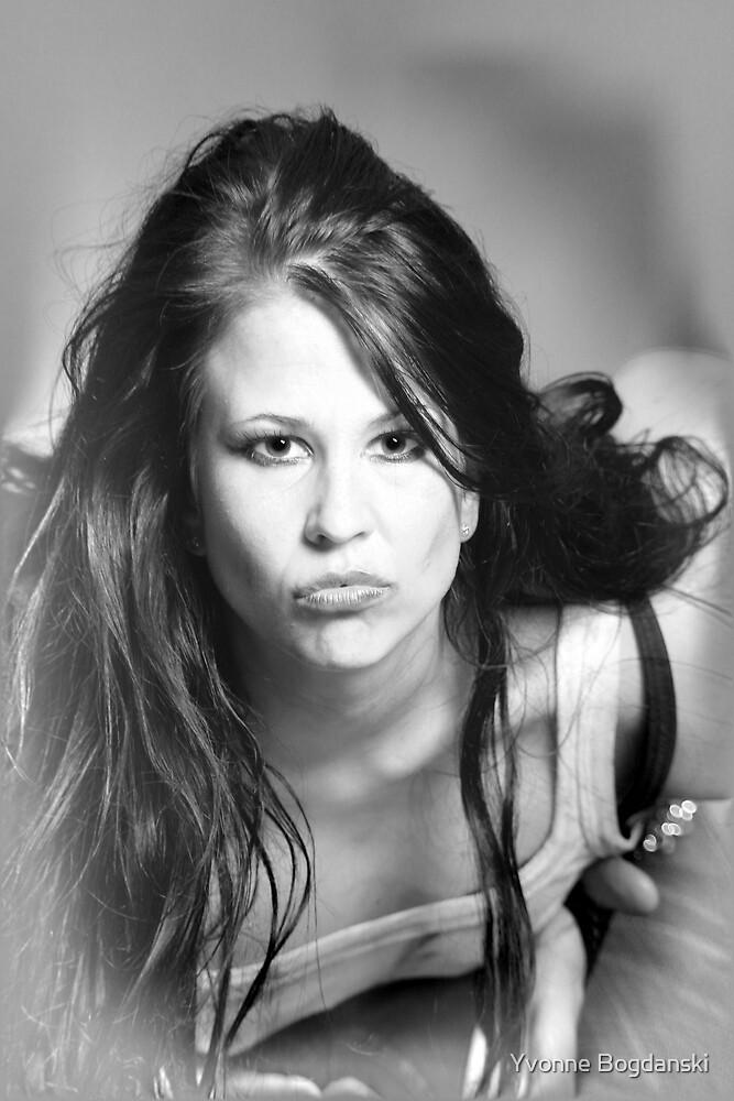beautiful woman by Yvonne Bogdanski