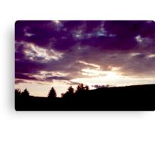 Byrness Sunset Canvas Print