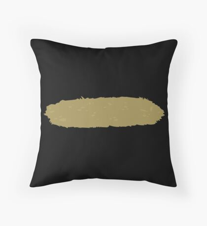 Glitch Groddle Land lens topper 1 Throw Pillow