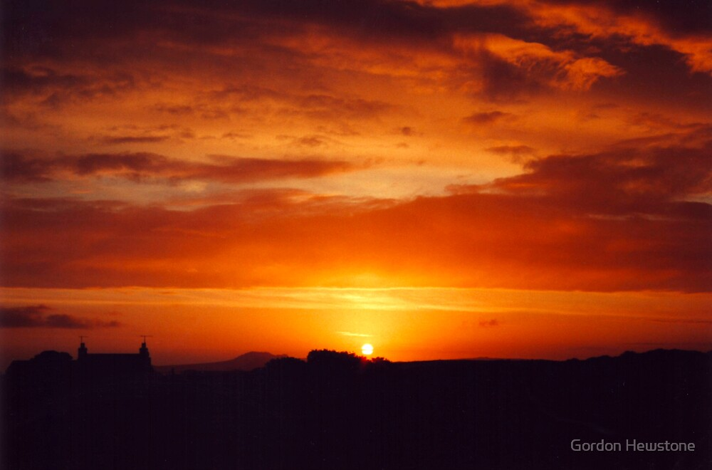Strumble Head Sunset by Gordon Hewstone