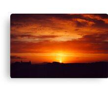 Strumble Head Sunset Canvas Print