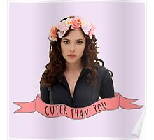 BW - Cuter Than You Poster