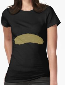Glitch Groddle Land lens topper 2 Womens Fitted T-Shirt