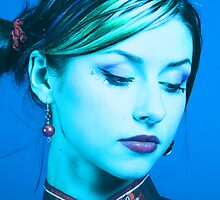 Feel blue by Yvonne Bogdanski