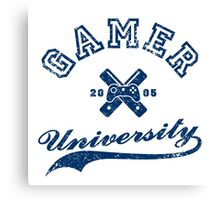 Gamer University Canvas Print