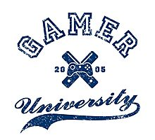 Gamer University Photographic Print