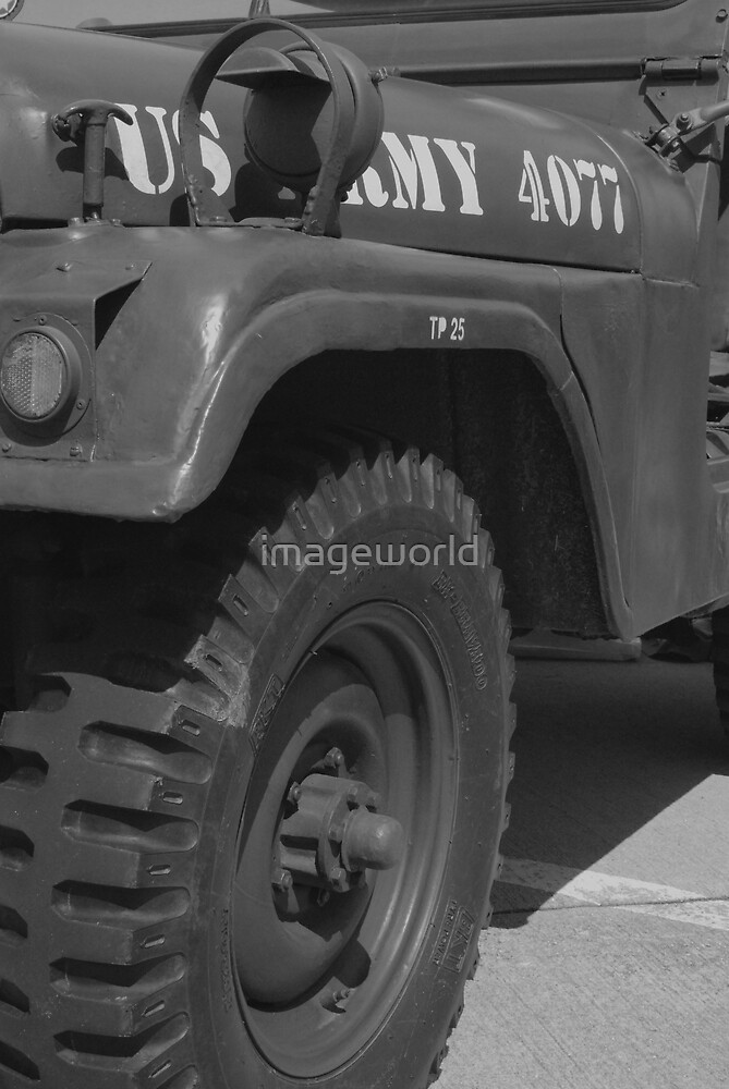 WW2 US Jeep by imageworld