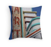 Art Theater Throw Pillow