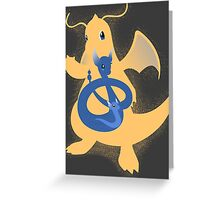 Wrath of the Dragon Greeting Card