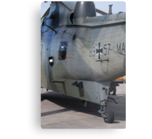 German Search & Rescue Sea King Metal Print