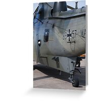 German Search & Rescue Sea King Greeting Card