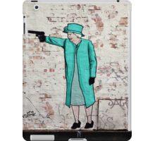 Royal Shootout Street Art London Urban Wall Graffiti Artist Prolifik iPad Case/Skin