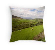 Anascaul Valley, Dingle Peninsula, Ireland Throw Pillow