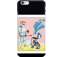 Star Wars BBQ- a piece of street art in Bristol by Dan iPhone Case/Skin