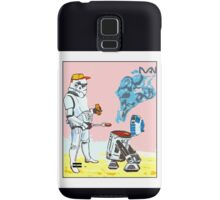 Star Wars BBQ- a piece of street art in Bristol by Dan Samsung Galaxy Case/Skin