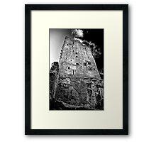 Blarney Castle, Ireland (b/w) Framed Print