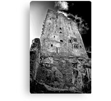Blarney Castle, Ireland (b/w) Canvas Print