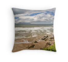 Inch Beach, Dingle Peninsula, Ireland Throw Pillow