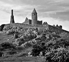Rock of Cashel, Cashel, Ireland (b/w) by ThomasMaher