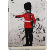 Middle Finger Street Art London Urban Wall Graffiti Artist Prolifik iPad Case/Skin