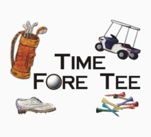 Golfing Time Fore Tee by FireFoxxy