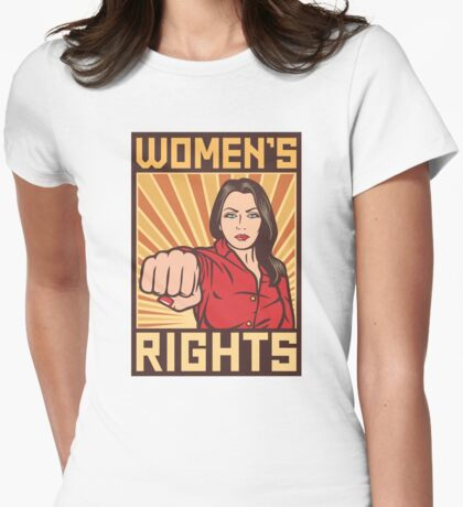 Women's Rights ORIGINAL Womens Fitted T-Shirt