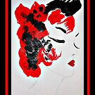 Funky Geisha Girl by ShellyKay