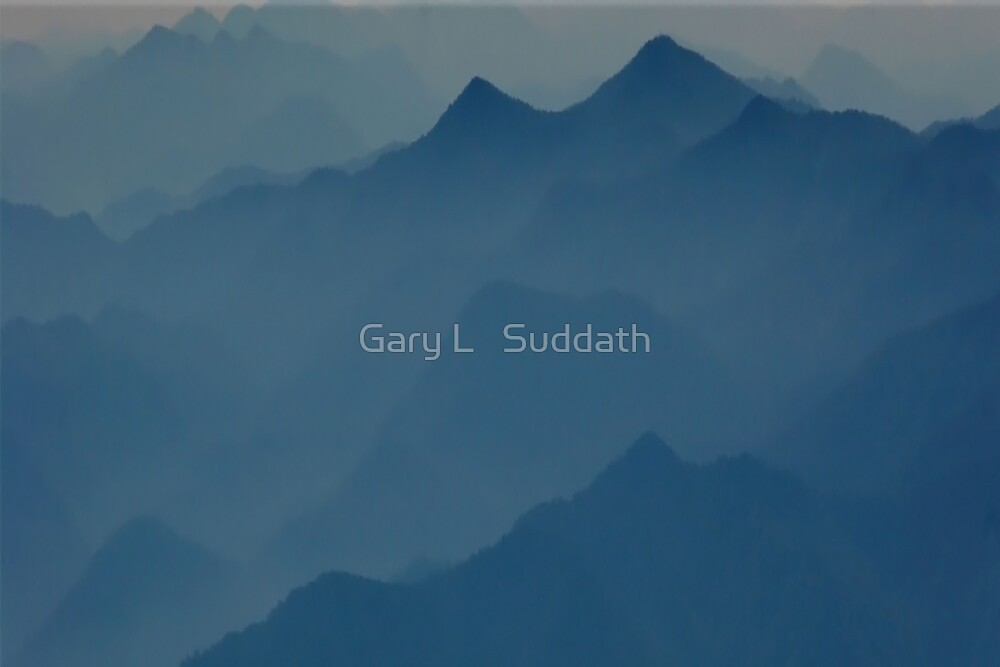 Mystical Mountains  by Gary L   Suddath