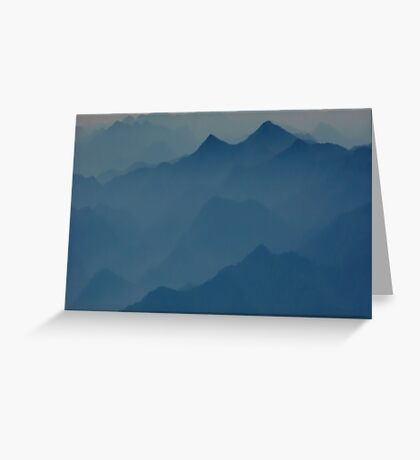 Mystical Mountains  Greeting Card