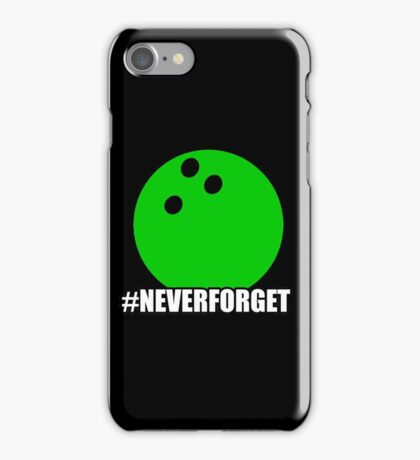 Never Forget Hastag iPhone Case/Skin