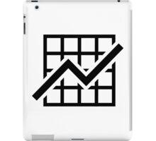 Chart growth profit iPad Case/Skin