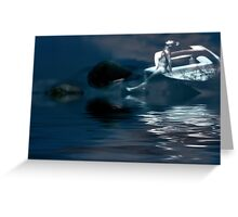 It's Just That The Moon Was Full... Greeting Card